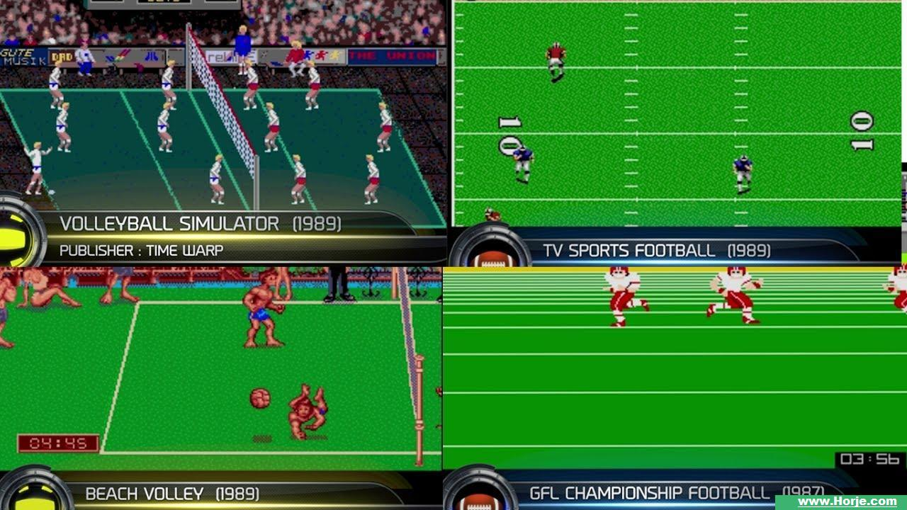 Atari Football (4 Players) Windows Mame Game Download