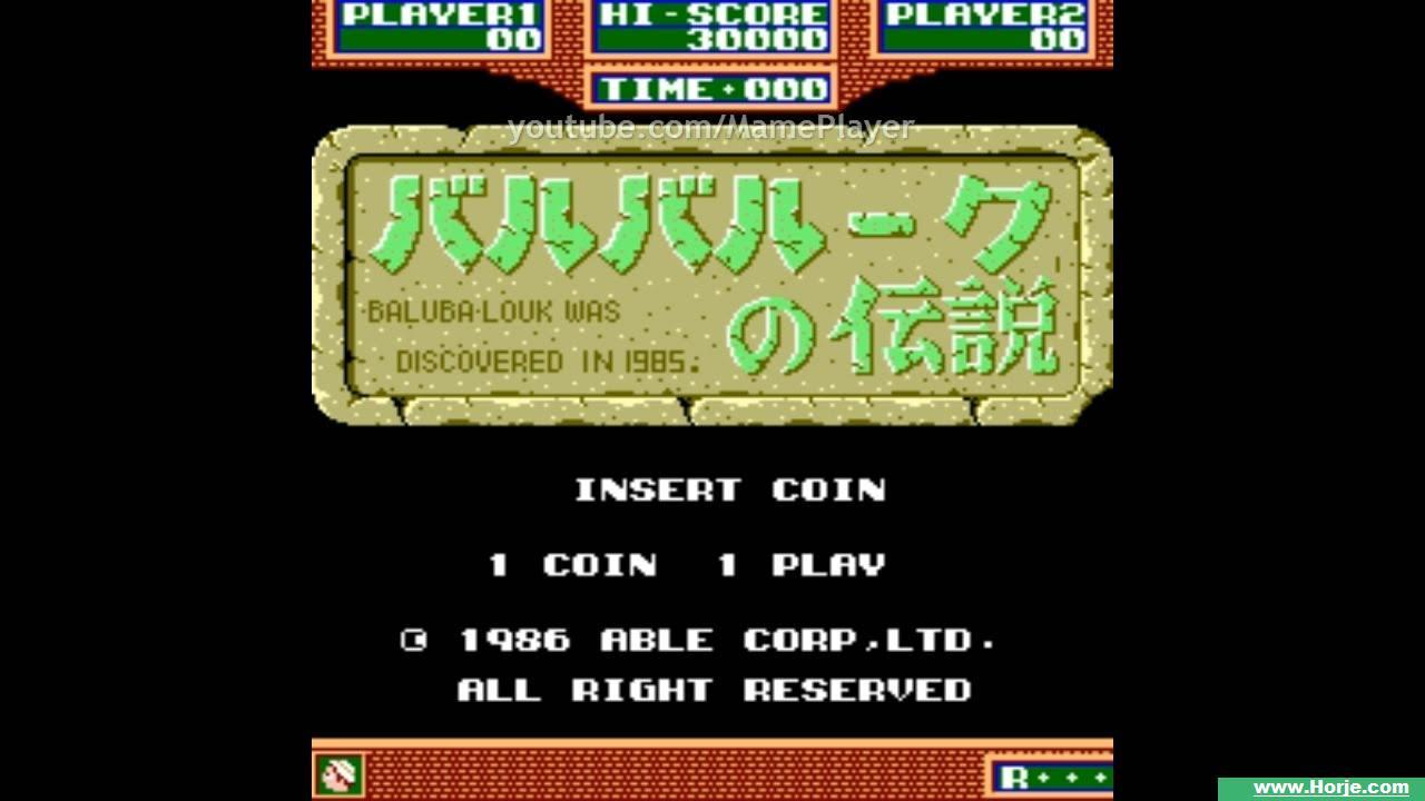 Baluba-Louk No Densetsu Windows Mame Game Download
