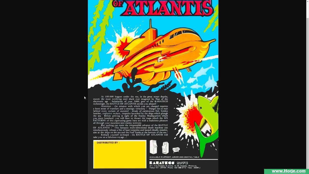 Battle of Atlantis (Set-2) Windows Mame Game Download