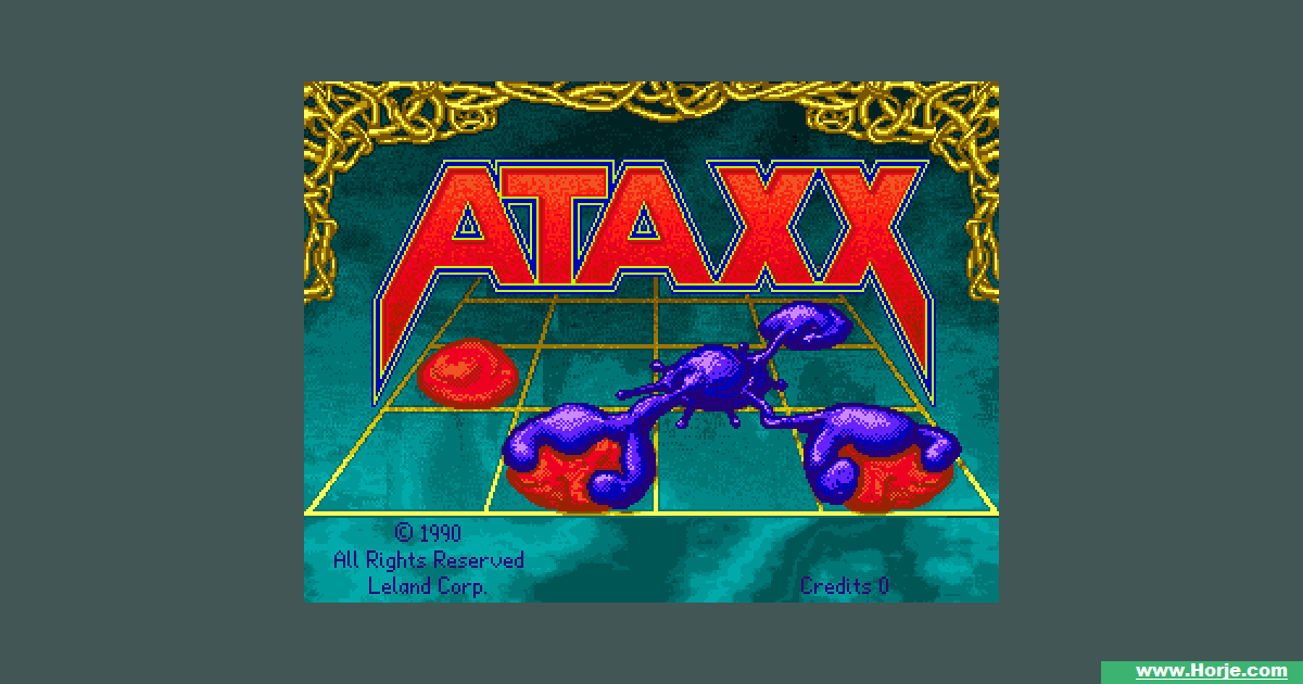 Ataxx (Japan) Windows Mame Game Download