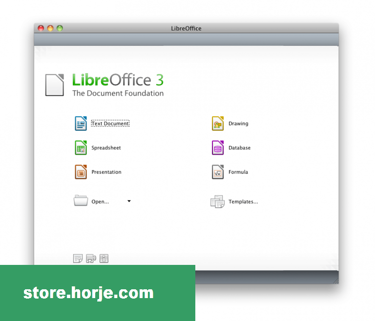 LibreOffice 3.6.5 for Mac – Download Free / Free Software
