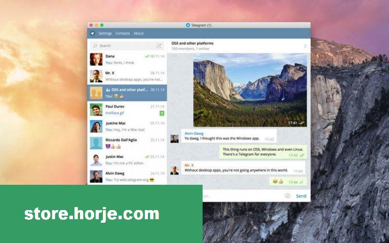 Telegram 5.9.3 for Mac – Download Free / Free Software