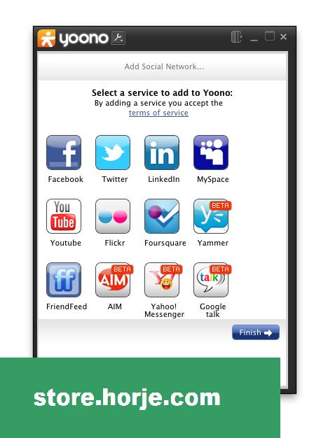 Yoono Desktop 1.8.22 Screenshot 1