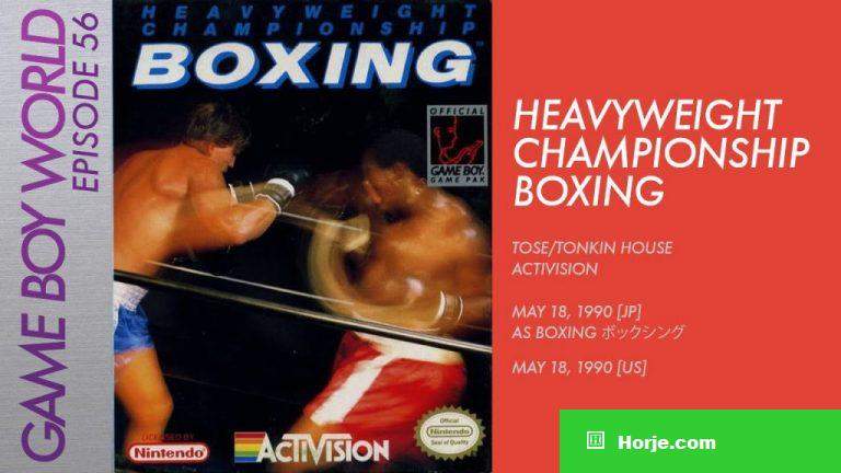 Boxing Boy Windows Mame Game Download
