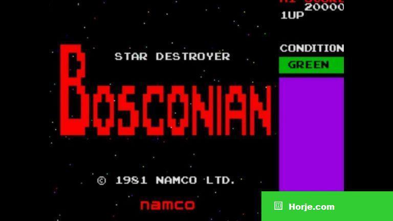 Bosconian (older version) Windows Mame Game Download