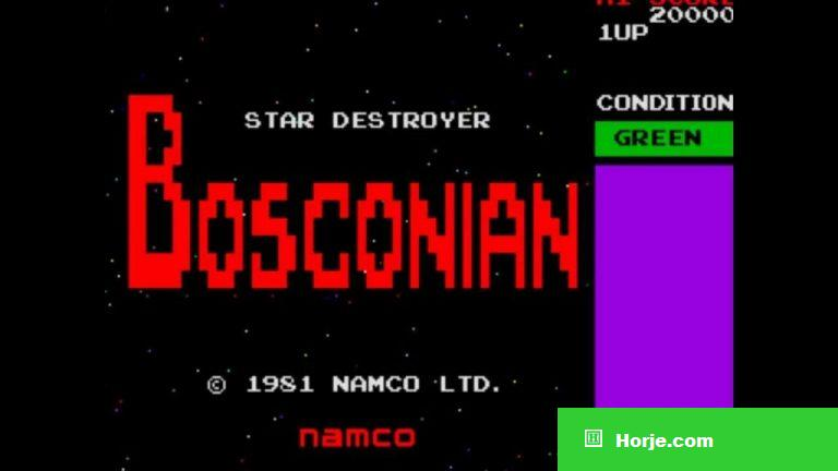 Bosconian Windows Mame Game Download