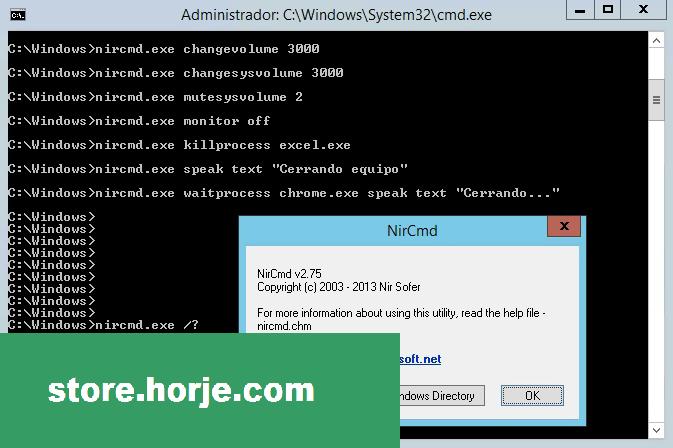 NirCmd (32-bit) Download (2020 Latest) for Windows 10, 8, 7