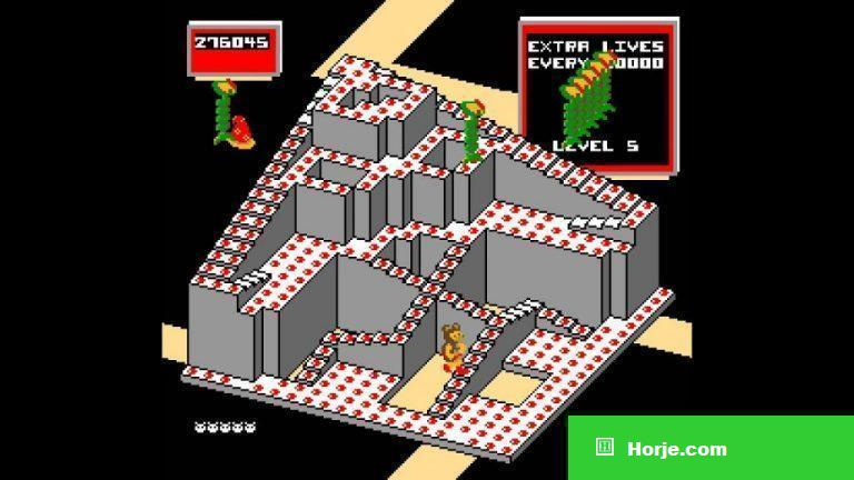 Crystal Castles (Version 2) Windows Mame Game Download