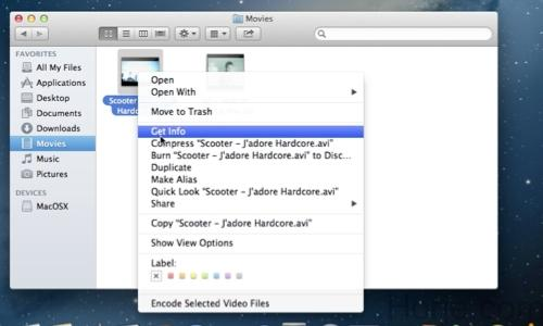 How to Set Quicktime as Default Player on Mac