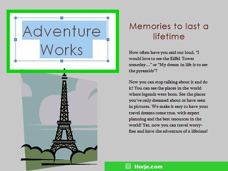 Image titled Make Brochures on Microsoft Word Step 5