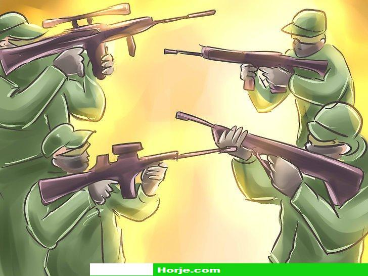 How to Play Different Types of Paintball Games