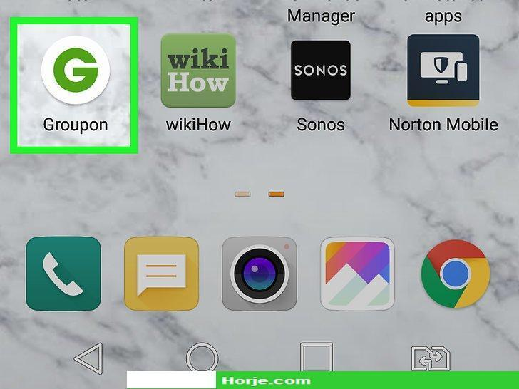 How to Delete a Groupon Account on Android