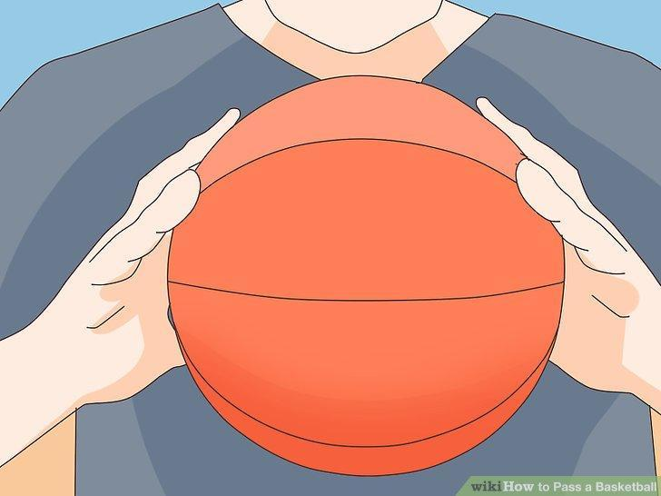 Image titled Pass a Basketball Step 1