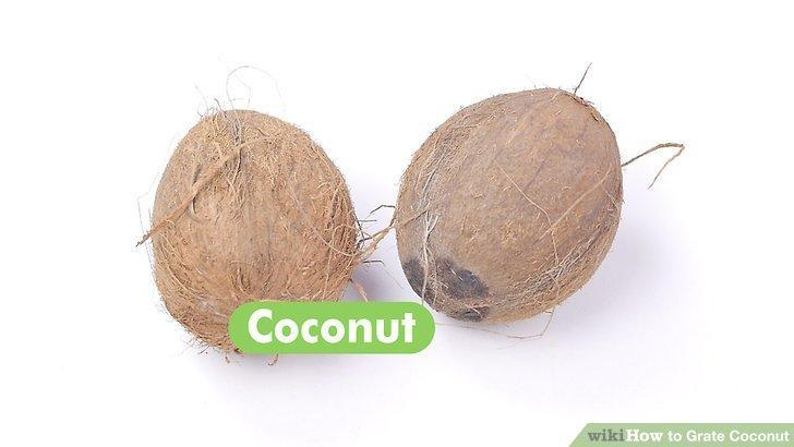How to Grate Coconut