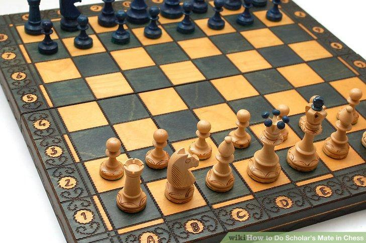 How to Do Scholar's Mate in Chess