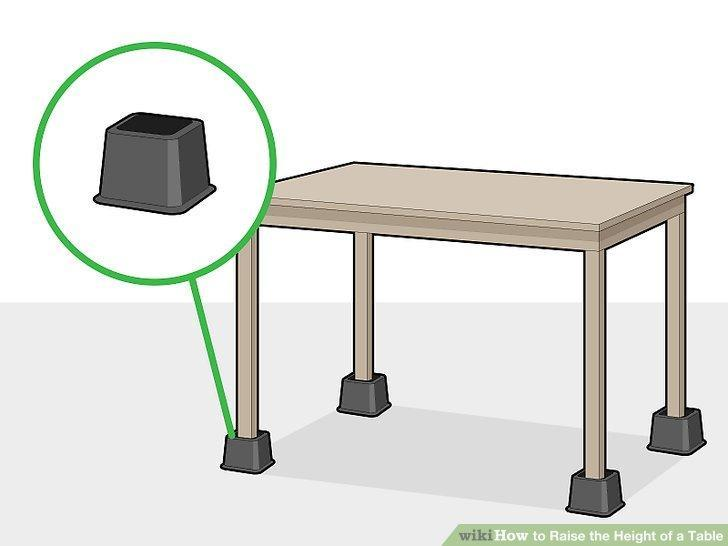 How to Raise the Height of a Table