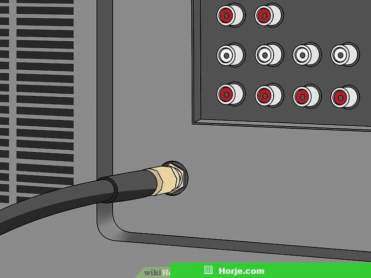 How to Unscrew a Coaxial Cable From Audiovisual Equipment