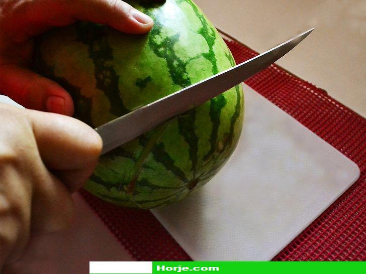 How to Carve a Watermelon Tea Pot