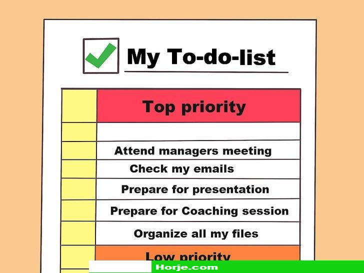 How to Improve Organizational Skills