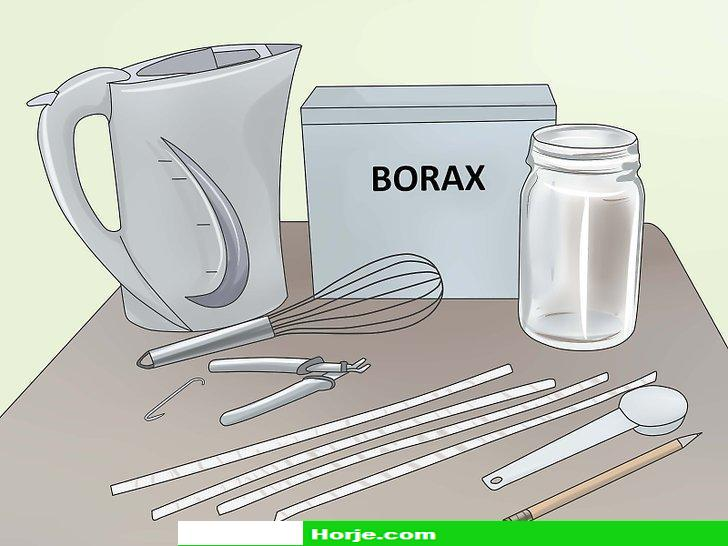 How to Make Borax Crystal Ornaments