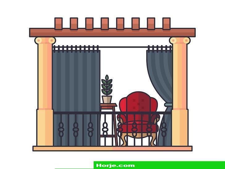 Image titled Enclose a Balcony Step 1