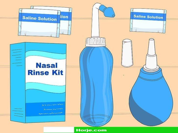 How to Use a Nasal Rinse