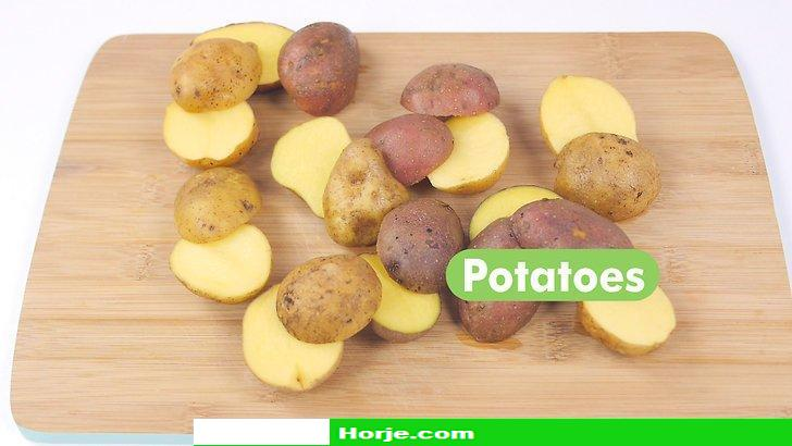 How to Bake Small Potatoes