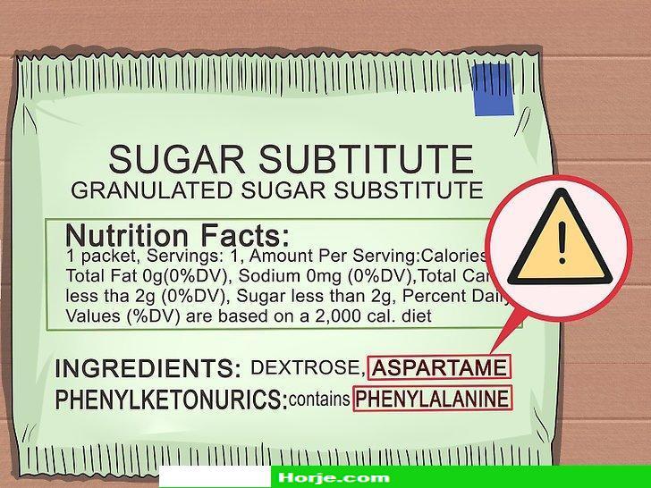 How to Avoid Aspartame