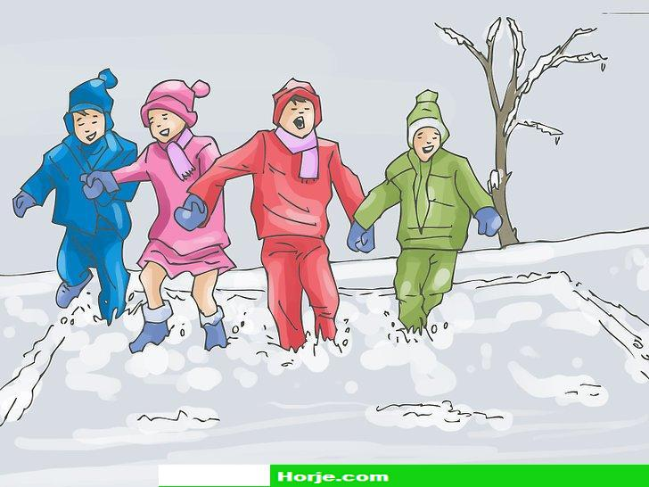 Image titled Play Big Bear's Den (Ukrainian Snow Game) Step 7