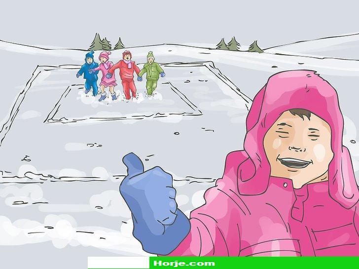 Image titled Play Big Bear's Den (Ukrainian Snow Game) Step 8